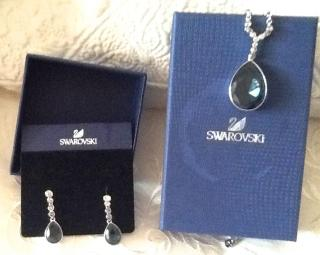 Swarovski jewellery set