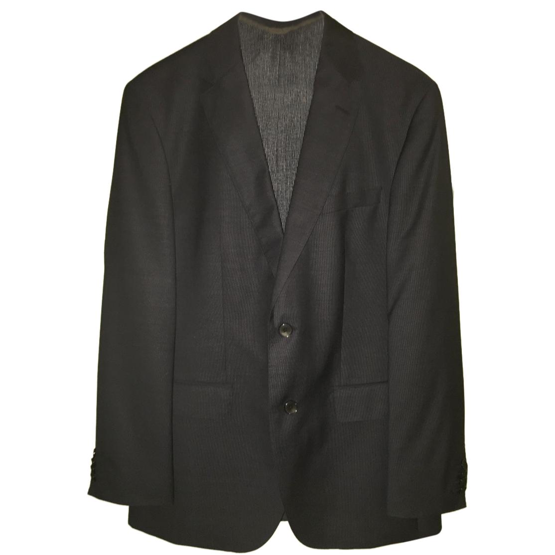 e1565cd85f Hugo Boss Mens Italian Virgin Wool Super 130 Navy Suit