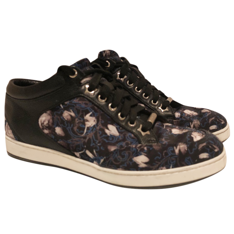 Jimmy Choo patterned trainers