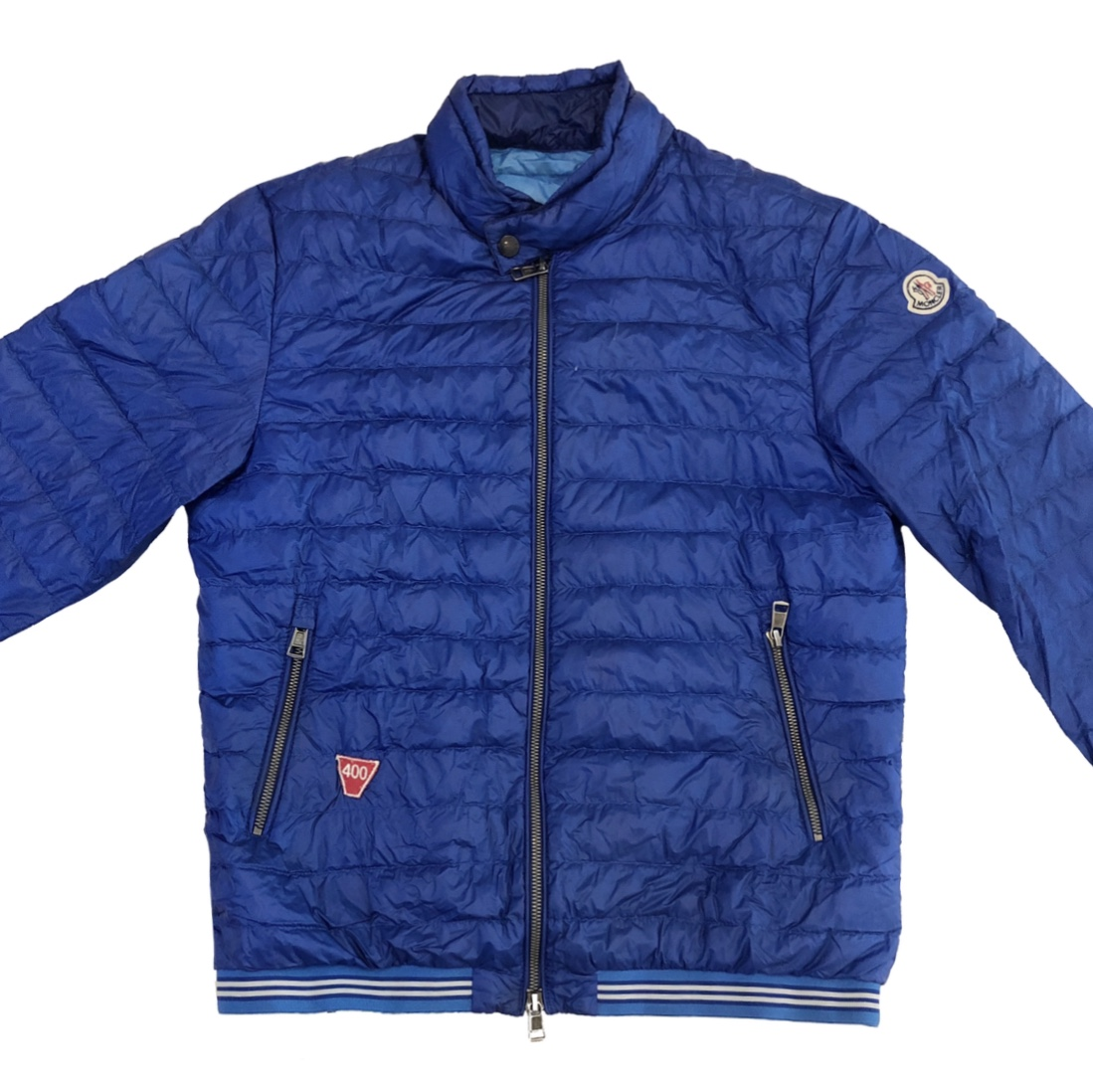 642350c2c Moncler Navy Blue Longue Saison Down Quilted Jacket