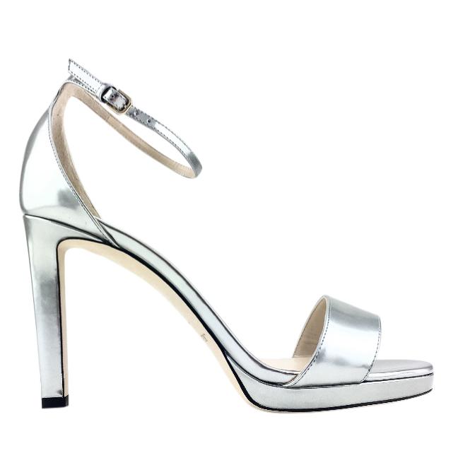 047d0404d2e6 Jimmy Choo Misty 120 Liquid Mirror Leather Platform Sandals