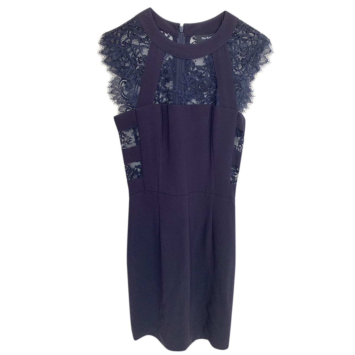 The Kooples crepe and lace dress