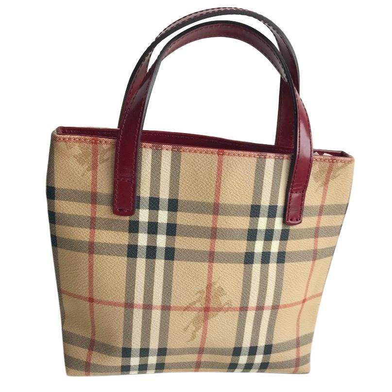 2d5555755c Burberry Small Vintage Nova Check Handbag | HEWI London