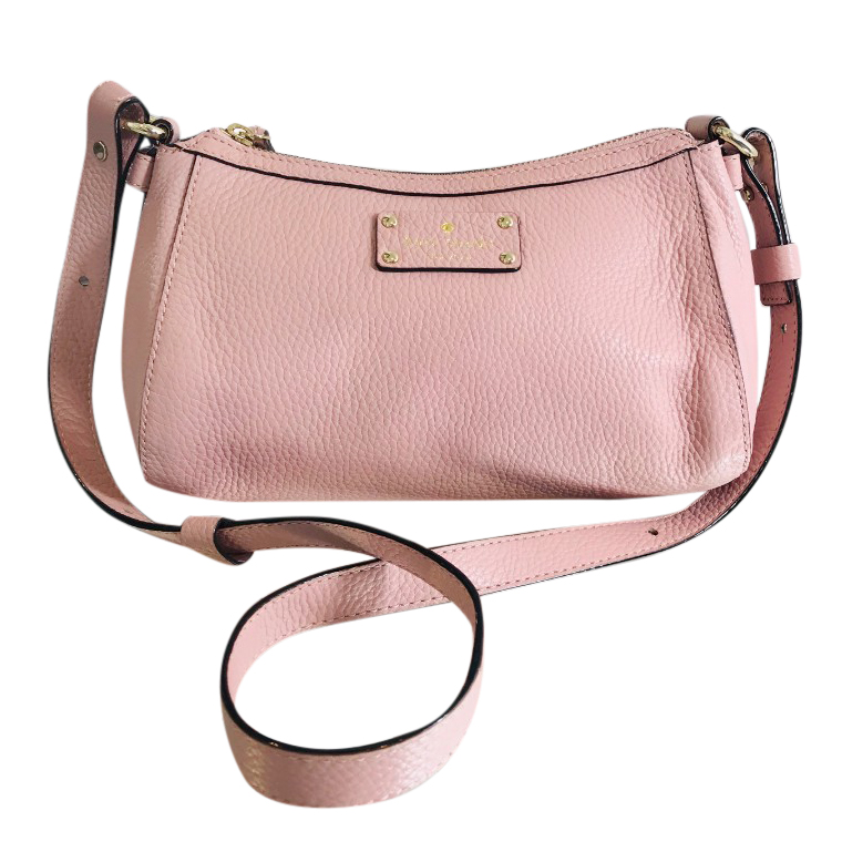 Kate Spade Baby Pink Crossbody Strap Bag