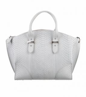 Alexander McQueen python Legend handbag
