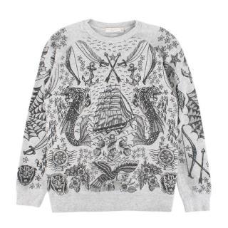 Stella McCartney children's tattoo-print sweatshirt