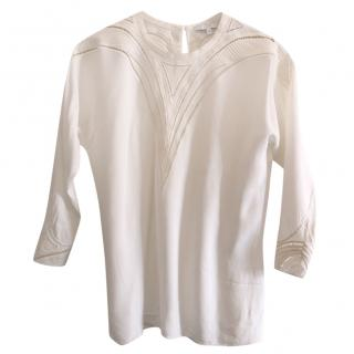 IRO white embroidered blouse