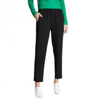 GANNI Elasticated Waist Black Trousers