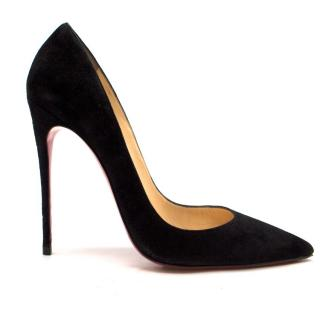 Christian Louboutin So Kate 120mm suede pumps