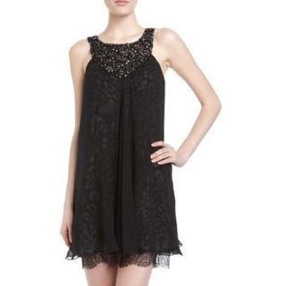 BCBG Max Azria Crepe Shift Dress