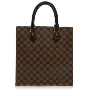 Louis Vuitton Sac Plat checked tote