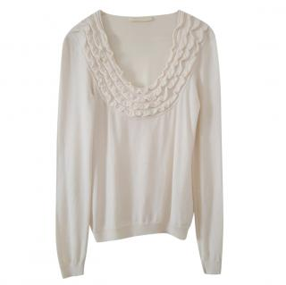 Valentino cream knit  sweater