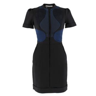 Victoria Victoria Beckham multi-panel zip-through dress
