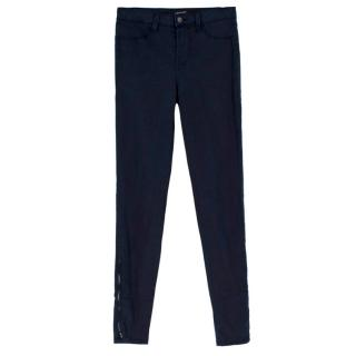 J Brand carbon blue straight fit jeans