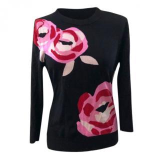 Kate Spade rose sweater