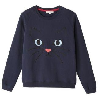 Paul & Joe Sister Blue Cat Sweatshirt