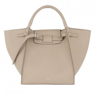 Celine light taupe small big bag
