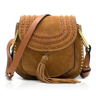 Chloe Brown Suede Small Hudson Bag