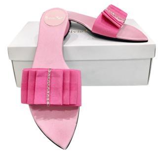 Sylvie Rost Paris Rose Pink Slides