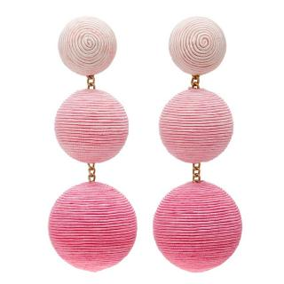 Rebecca de Ravenel sphere-drop clip-on earrings - Current