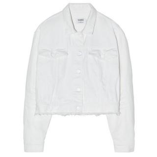 Closed White Denim Jacket - New season