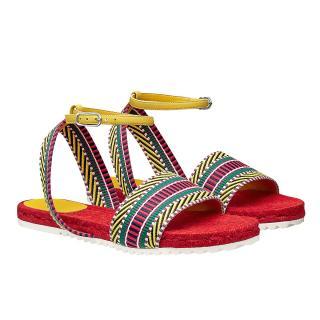 Hermes Rhodes Espadrille Sandals