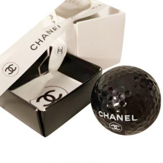 Chanel rare golf ball in box
