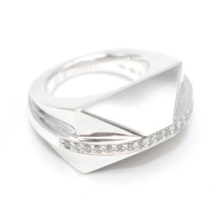 Ruifier Icon Shard Silver and 0.29ct White Diamond Ring