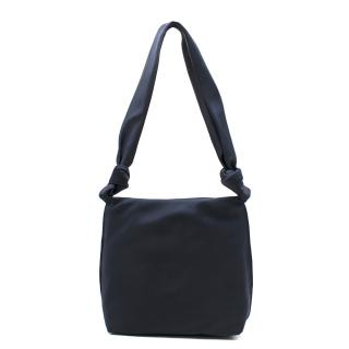 The Row Wander knotted satin shoulder bag