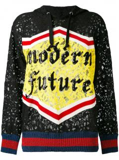 Gucci Modern Future Lace Hoodie