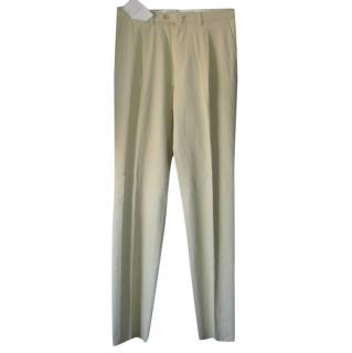 Loewe Cotton Cashmere Blend Trousers