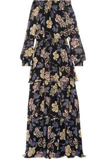 Tory Burch long floral dress