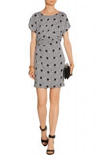 Diane von Furstenberg Jenna geometric silk print dress