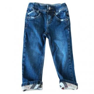 Burberry girls denim jeans