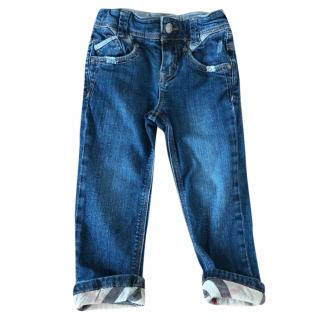 Burberry girls denim jeans