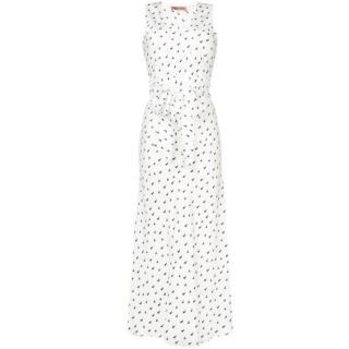 Maggie Marilyn tie-waist silk-twill dress - New Season
