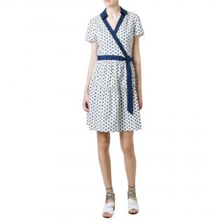Diane Von Furstenberg cotton-poplin Kaley dress