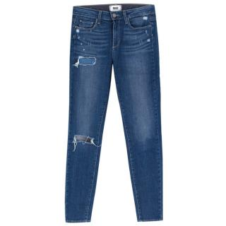 Paige Hoxton Ultra Skinny distressed jeans