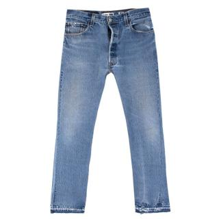 Re/Done x Levi's straight-leg jeans - New Season