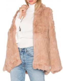 EAVES Denver Rabbit fur coat