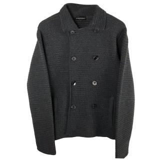 Emporio Armani Dark Grey Cardigan
