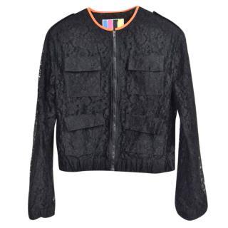 MSGM Black Jacket