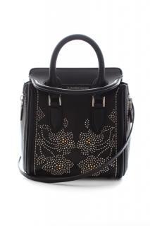 Alexander McQueen Flower Studded Mini Heroine Bag