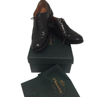 Church's Black Leather Lace-ups