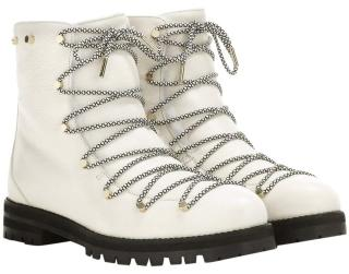 Jimmy Choo White Drake Shearling lined Boots