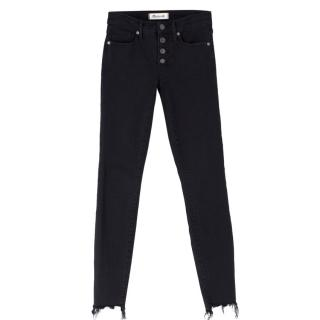 Madewell Black High Rise Skinny Jeans