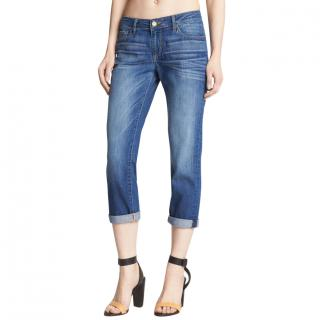 Paige James Crop Aero denim jeans