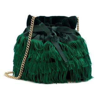 Bionda Castana Green 'Estella' Clutch