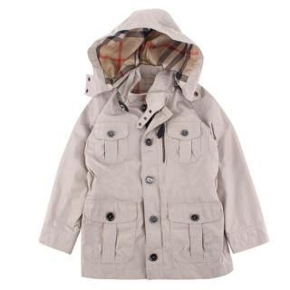Burberry children's age 4 beige trench coat