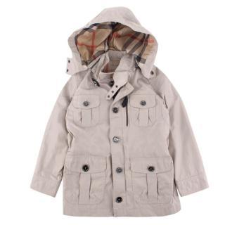 Burberry children's age 4 beige trench coat